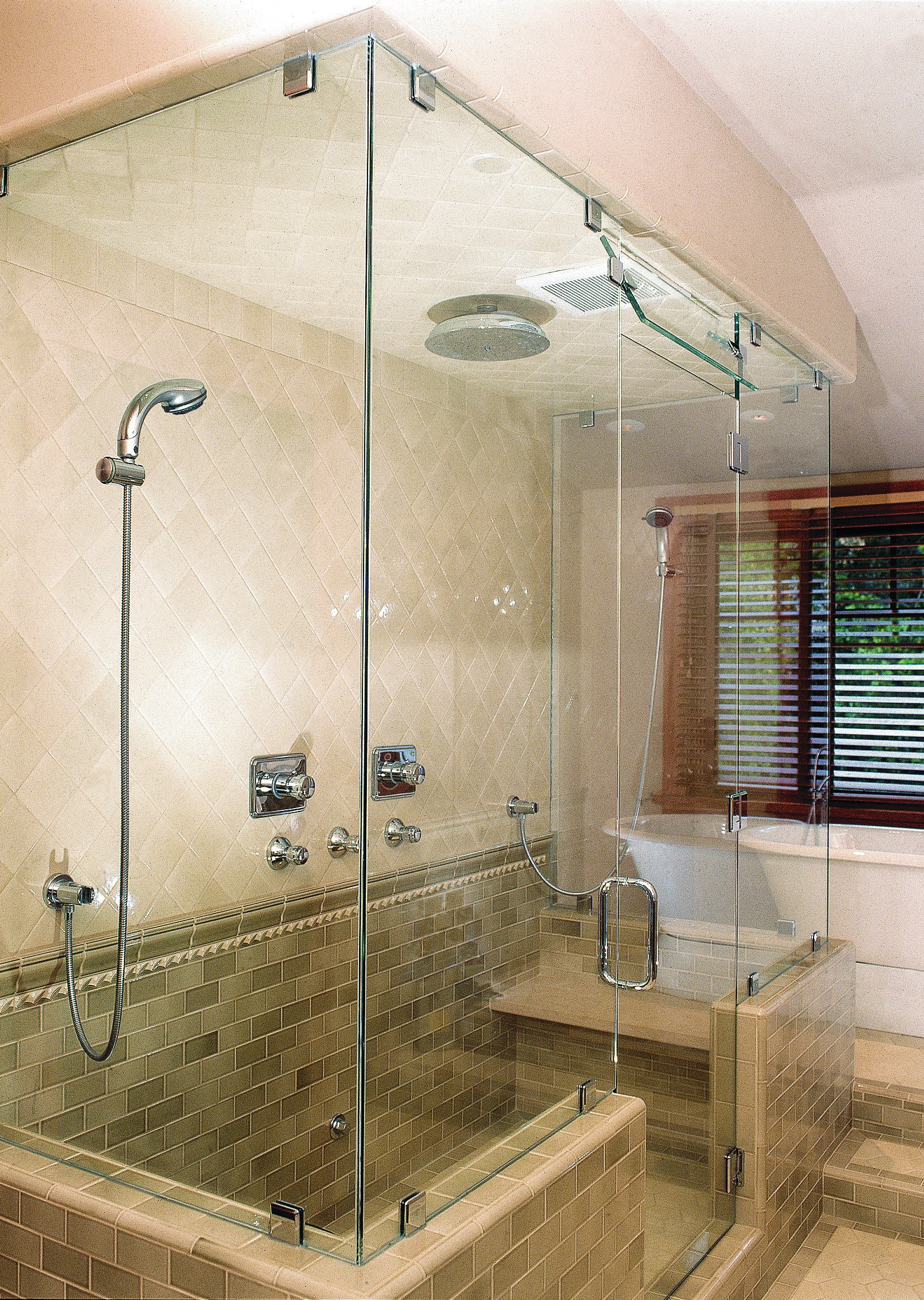Custom Shower Doors  Mirrors The Glass Shop - Custom showers