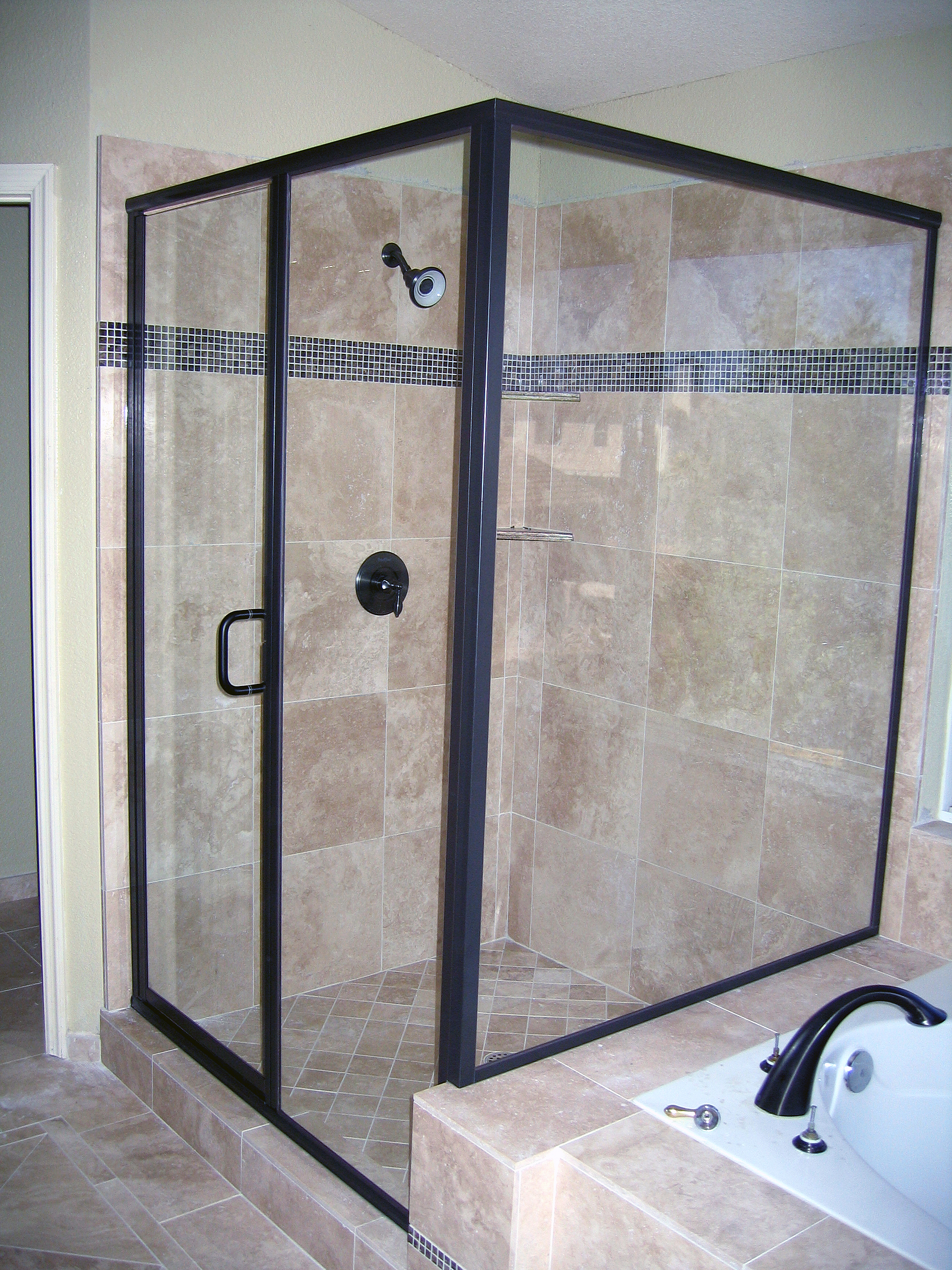 Custom Shower Doors Mirrors The Glass Shop