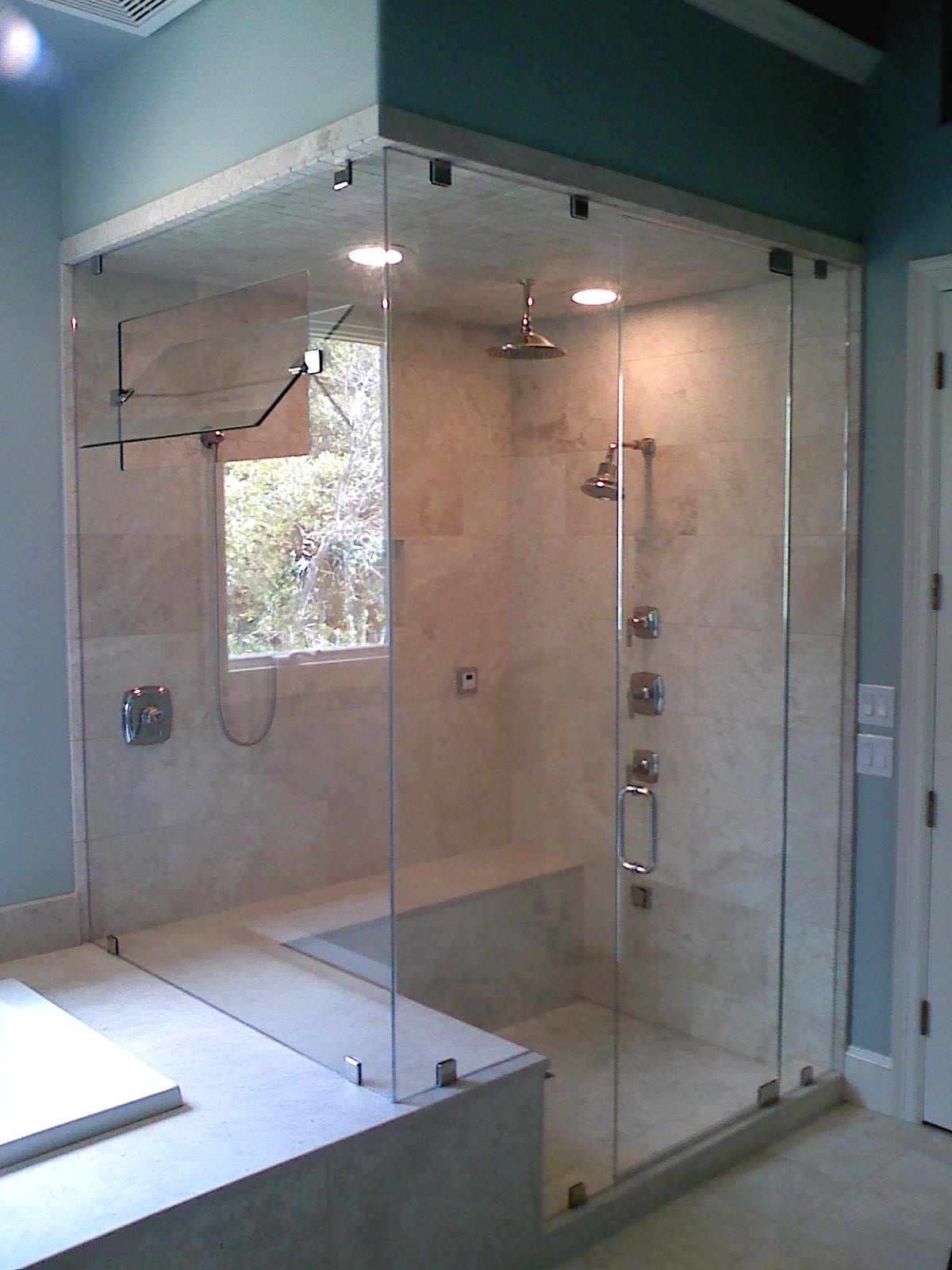 Custom shower doors mirrors the glass shop showers shower3551 unit with in panel steam vent binswanger glass 83 austin cardinalshowereurote02 cardinalshowerheavyglass10 eventelaan Images